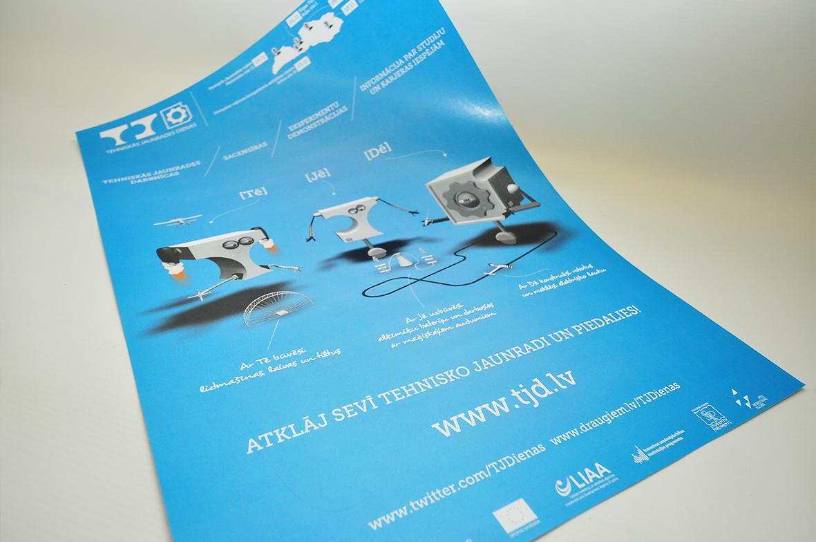 Price for a poster design - Poster Production Price Digital Mouse Ltd Latvia