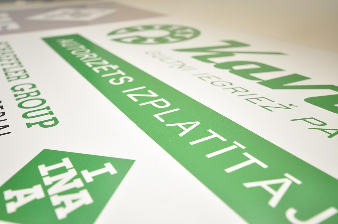Large Format PVH Banner Printing Prices - Digital Mouse Ltd Latvia