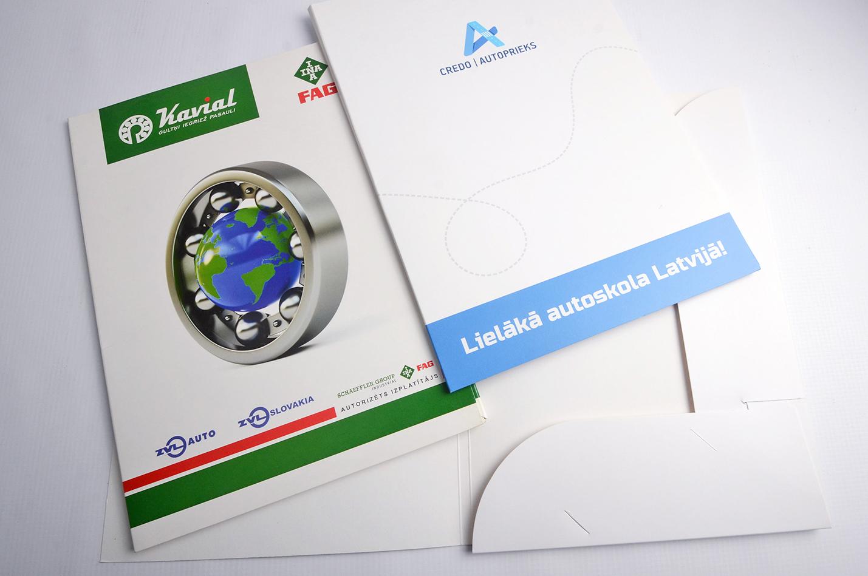 cardboard folders printing prices