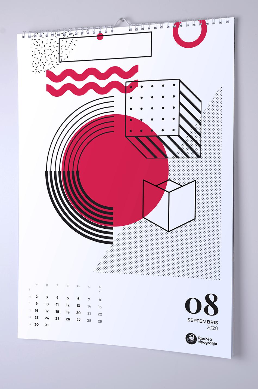 Foto sienas kalendāru druka
