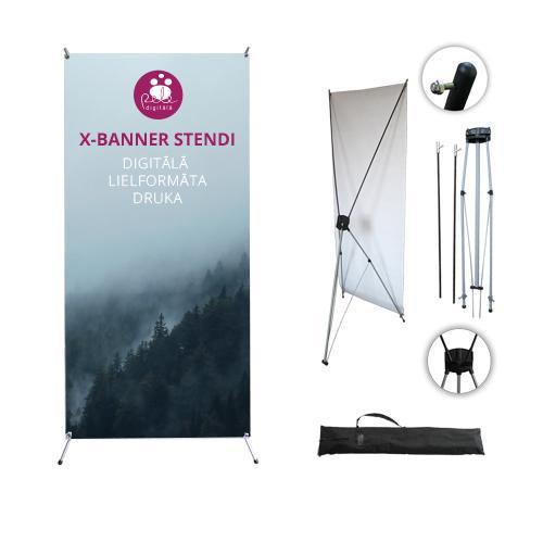 x baner stand printing price