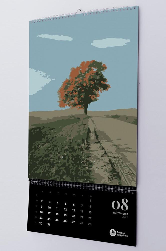 Exclusive wall calendar printing 2021.
