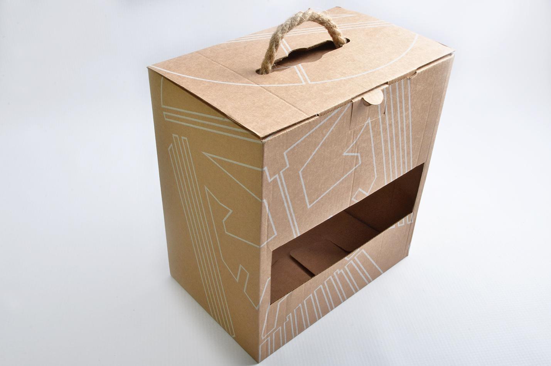 gofrēta kartona kastes izveide