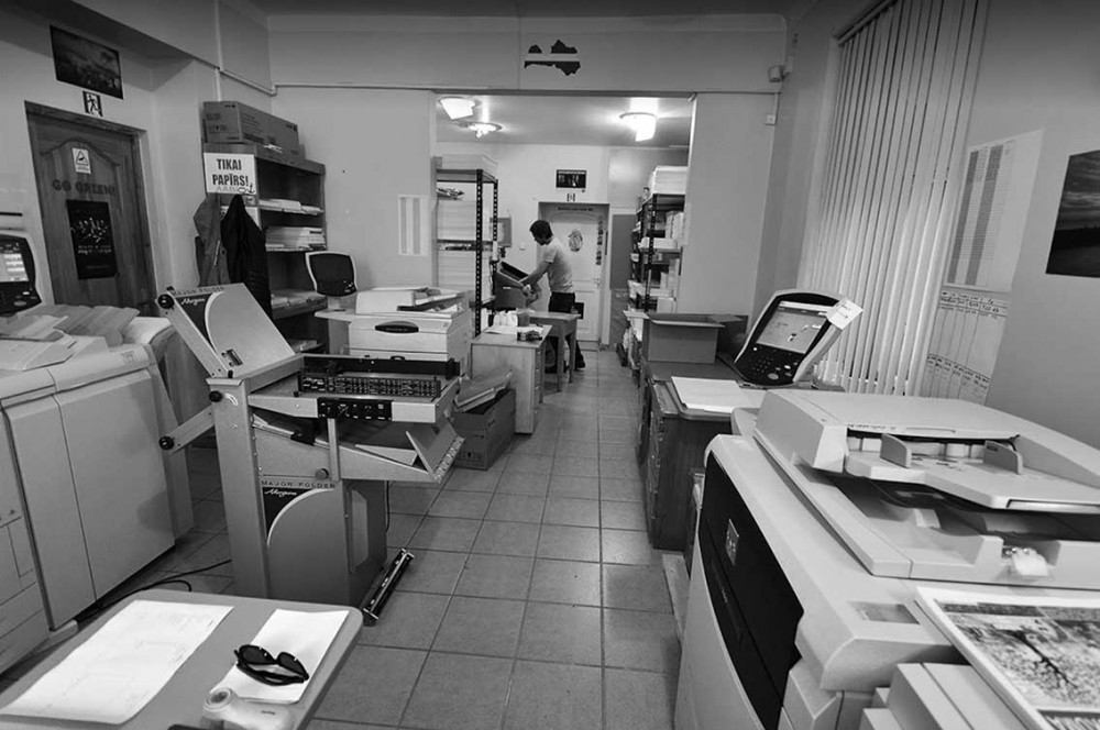 printing house, advertising agency