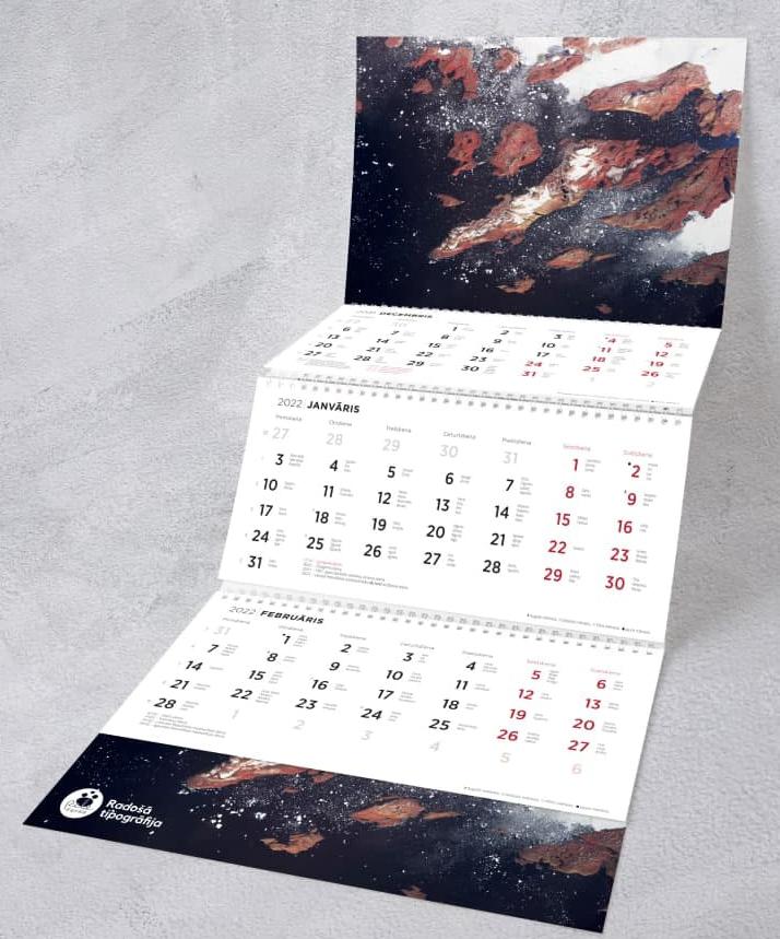 Sienas kalendāri 2022