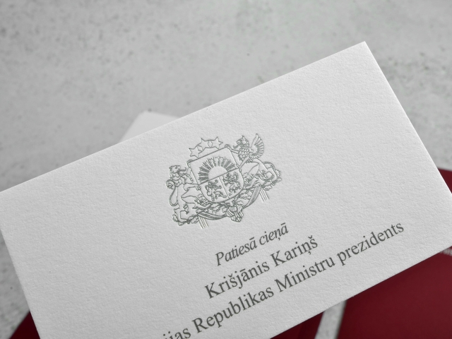 Representation materials of the State Chancellery