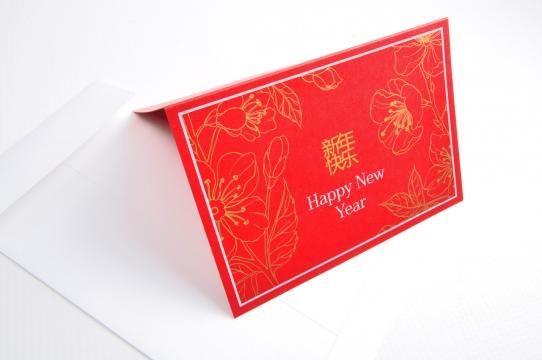 Ķīnas vēstniecības jaungada kartiņas izgatavošana