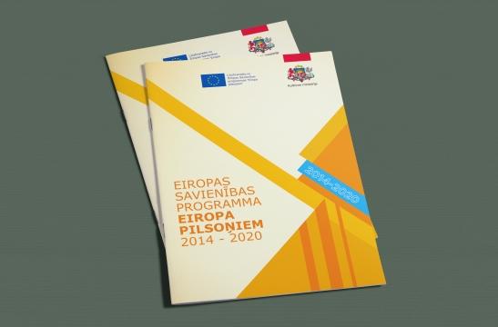 Kultūras ministrijas brošūras izgatavošana
