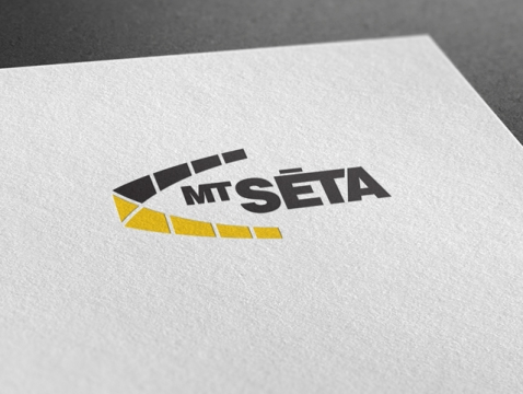 MT Seta logo design