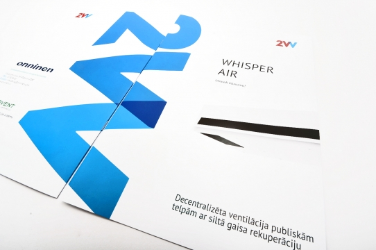 Design and printing of stapled brochure