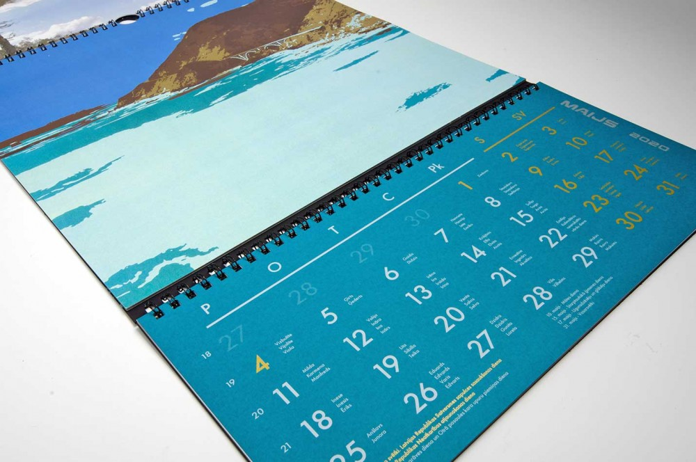 Un Calendar 2021 Calendars 2021 | Planners | Production