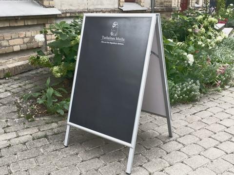 A type street stand - blackboard