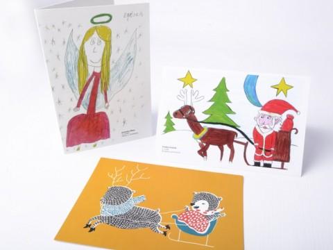 Seasonal Christmas Cards printing