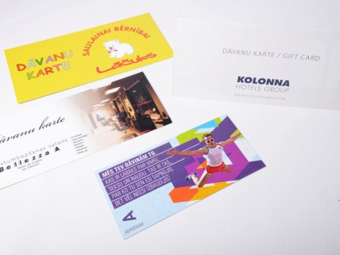 Gift card printing