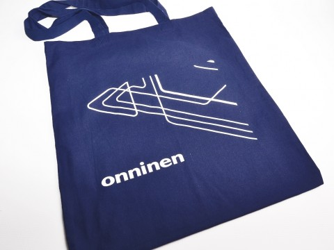 fabric bag printing with white screen printing