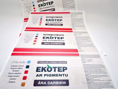 sticker label printing