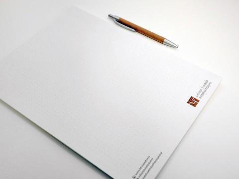 Notepad making printing