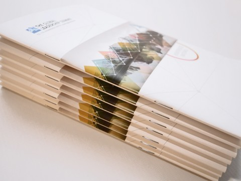 brochure typography digital printing