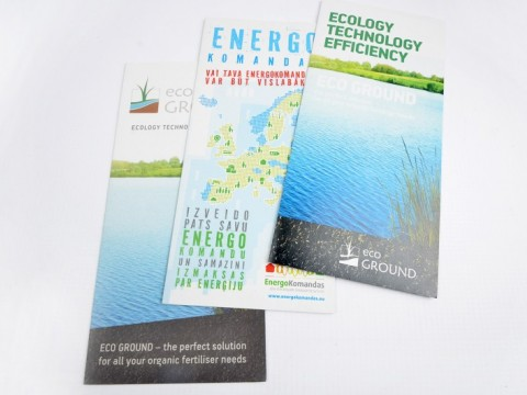 booklet printing on eco paper, recycled