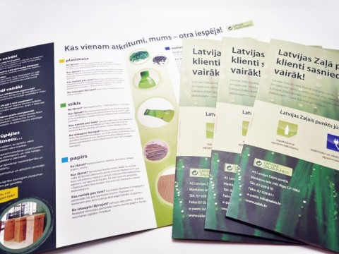 brochures, booklet printing on recycled paper