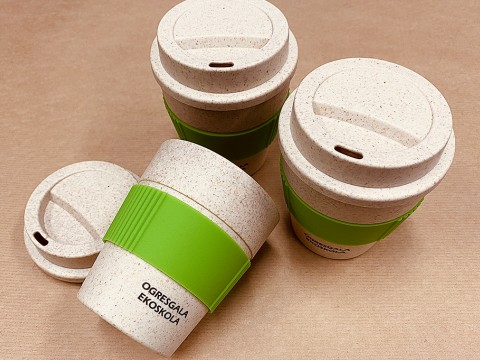 Eco cups with print