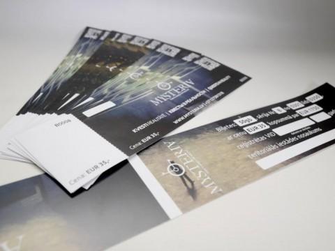 Numerētas biļetes druka