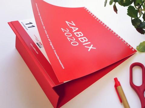 Table calendar 2020, printing