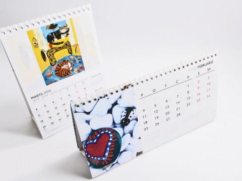 Table Calendars production 2019