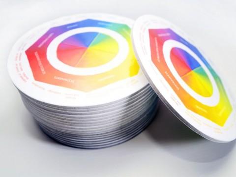coasters making, printing