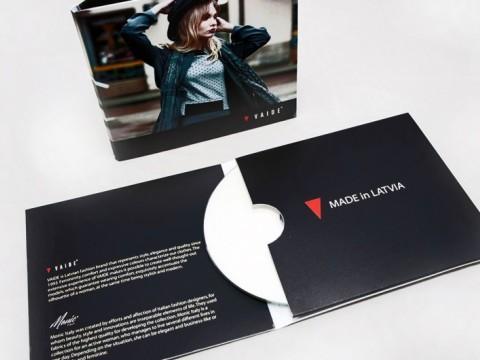 CD vāciņu grafiskais dizians