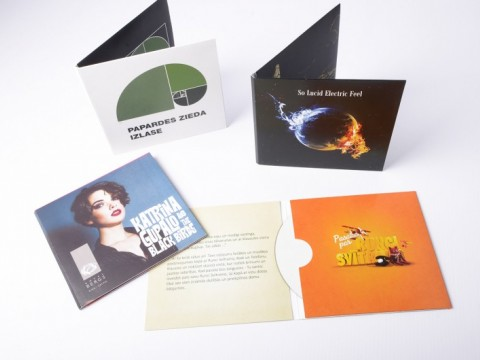 CD cover production, printing
