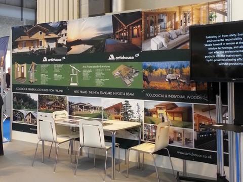 exhibition design, production