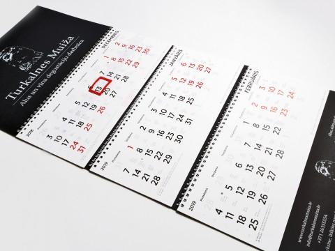 Calendar print 2019