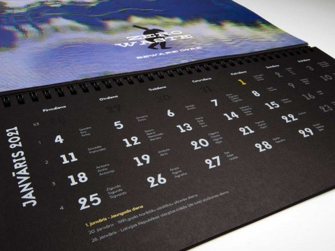 Production of calendars 2021
