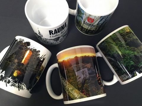Sublimation print mugs