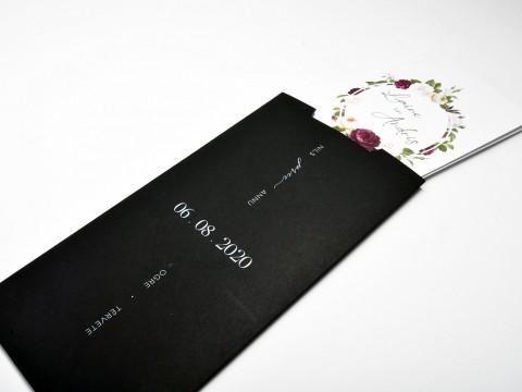 Print black invitations in white