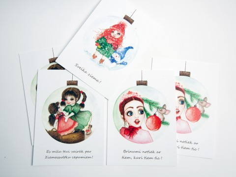 Postcard printing, printing services
