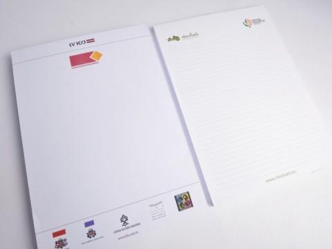 A4 notebook pads