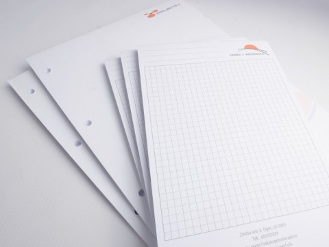 glued notebooks