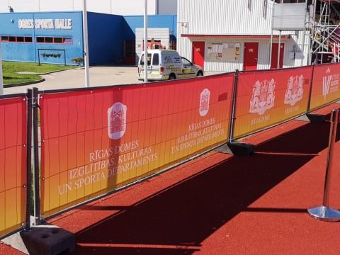 pvc banner production