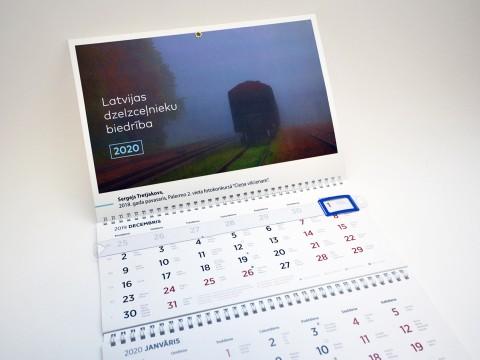 Wall calendar printing 2020