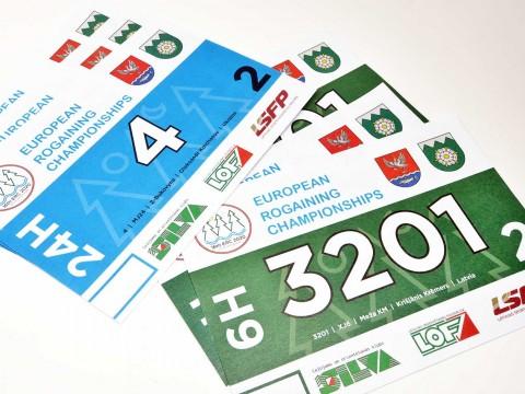 Bib numbers printing Latvia