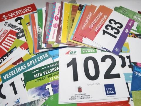 marathon bib number printing on tyvek