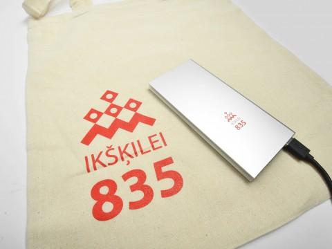 USB powerbank with print