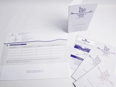 hotel registration materials