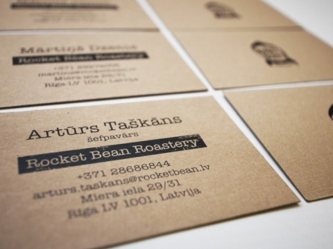 business cards printing on eco papper