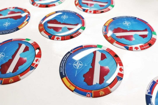 3D sticker printing