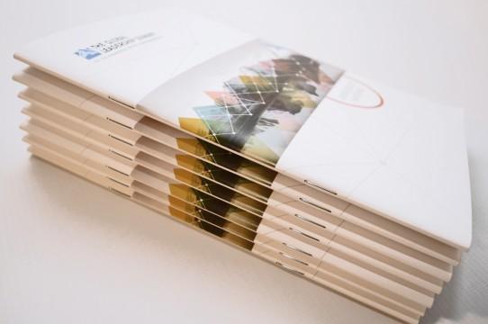 brochure typography digital printing