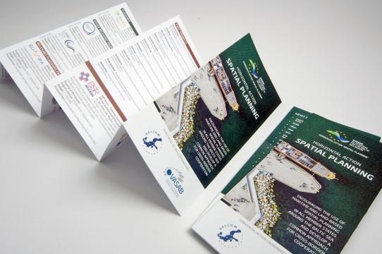 Booklet design development