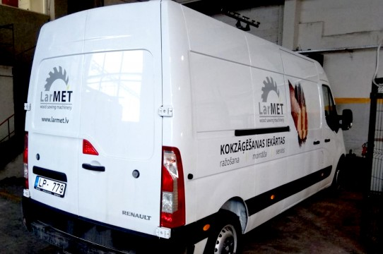 Bus wrapping with autofilm